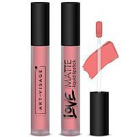 Жидкая помада для губ Art-Visage LOVE MATTE, тон 51 персиковый беллини