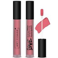 Жидкая помада для губ Art-Visage LOVE MATTE, тон 56 Космополитен