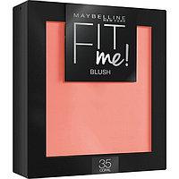 Румяна для лица Maybelline Fit Me Blush, оттенок 35 коралл