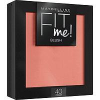 Румяна для лица Maybelline Fit Me Blush, оттенок 40 персик