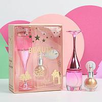 Подарочный набор: парфюм и мерцающий хайлайтер Your magic winter