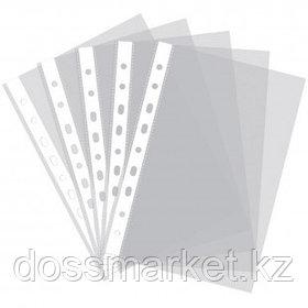 Файл - вкладыш, прозрачный,  100 мкр. Dolphin 100 штук/пачка