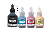 Оригинальные чернила для Brother DCP-T500W (черный 108мл + 3 цветных по 48.8мл)