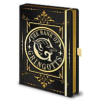 Записная книжка Harry Potter (Gringotts) Premium A5 SR72828