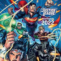 Вселенная DC. Календарь настенный на 2022 год (300х300 мм)