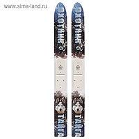 Лыжи охотничьи дерево-пластиковые «Тайга», 155 см, цвета МИКС