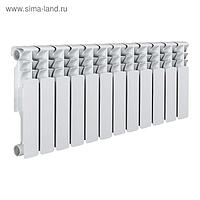 Радиатор Tropic 350x80 мм биметаллический, 12 секций