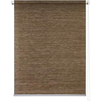 Рулонная штора «Концепт», 120 х 175 см, цвет коричневый