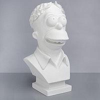 Гипсовая фигура. Известные люди Бюст Симпсона, 41.5x21.5x22 см