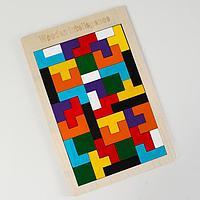 Детская развивающая головоломка «Тетрис» 27×18×0,5 см