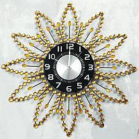 """Часы настенные, серия: Ажур, """"Калли"""", d=60 см, циферблат=22 см"""