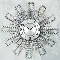 """Часы настенные, серия: Ажур, """"Тали"""", d=60 см, циферблат=22 см"""
