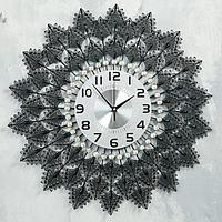 """Часы настенные, серия: Ажур, """"Эльпида"""", d=60 см, циферблат=22 см"""