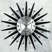 """Часы настенные, серия: Ажур, """"Молипи"""", d=60 см, циферблат=22 см"""