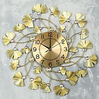 """Часы настенные, серия: Ажур, """"Мэрика"""", d=60 см, циферблат=22 см"""