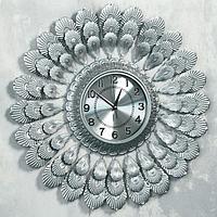 """Часы настенные, серия: Ажур, """"Лея"""", d=60 см, циферблат=19 см"""
