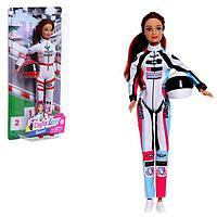 Кукла-модель 'Гонщица' с аксессуарами, МИКС