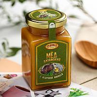 Мёд алтайский с кедровой живицей, 330 г