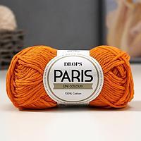 """Пряжа """"Paris"""" 100% хлопок 75м/50гр (13 оранжевый)"""