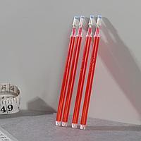 Набор стержней, термоисчезающие, 4 шт, цвет красный