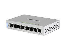 Сетевой коммутатор Ubiquiti UniFi US-8 Switch 8 port 10/100/1000 Mbit, 2SFP, rack