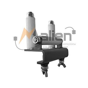 Ролик кабельный прямой для перфорированного кабельного лотка РЛ-КЛ-100/150Л  МАЛИЕН