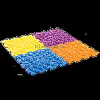 Массажный коврик «Цветные камешки» жесткий