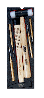 Набор инструментов для жесткого кейса 4750RCHDW01, 6 штук FF2B16