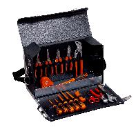 Набор инструмента для электрика в кожаной сумке,16 шт 982000170