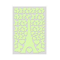 Светящаяся наклейка ночник Эйфелева башня «Люми Зуми», А4