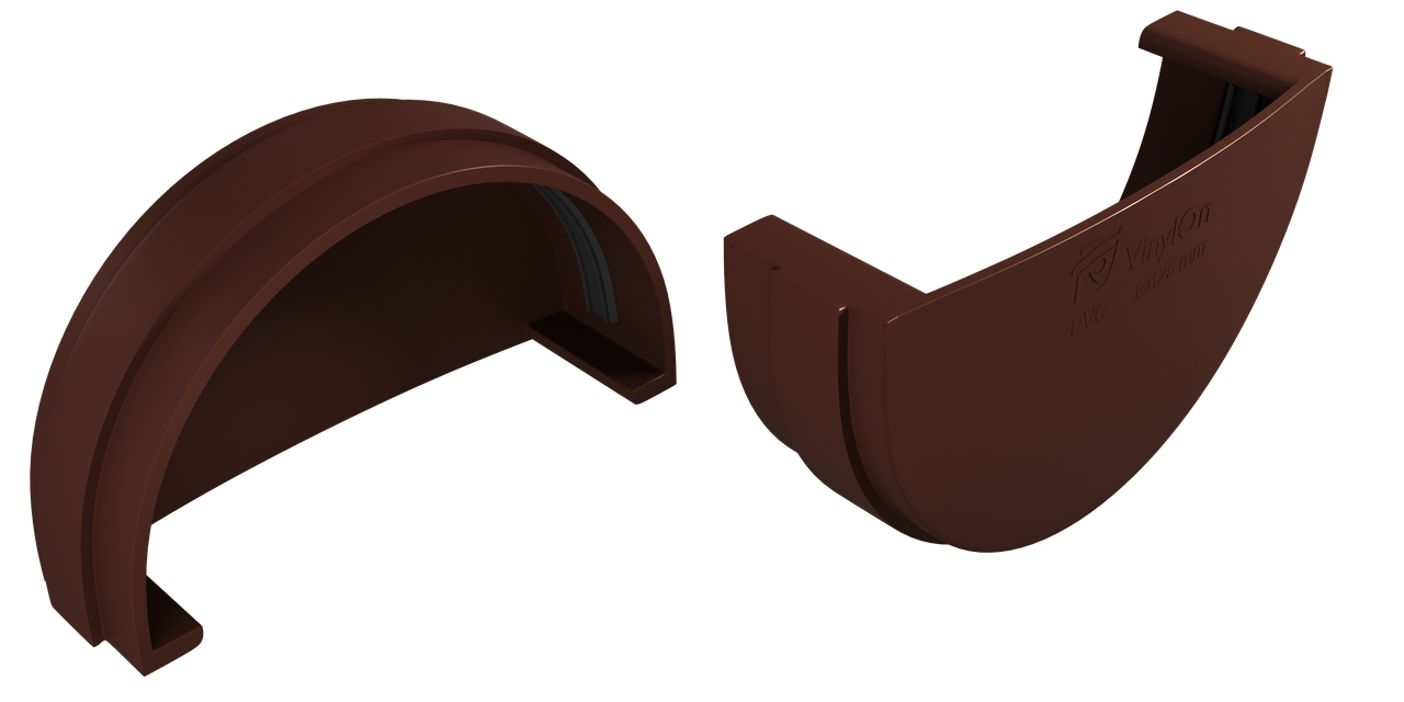 Заглушка желоба (КОФЕ) в упк. 40 шт.