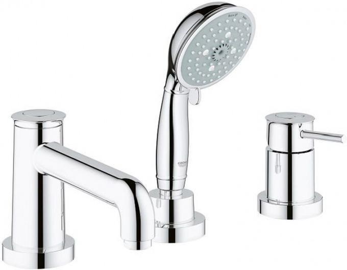 Смеситель для ванны встроенный Grohe BauClassic 2511800A