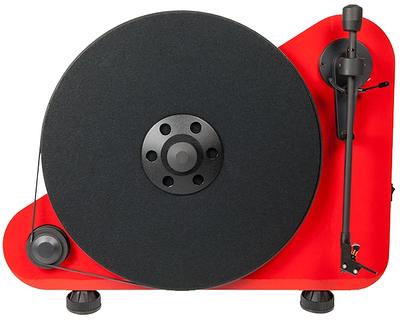 Проигрыватель виниловых пластинок Pro-Ject VT-E R, красный