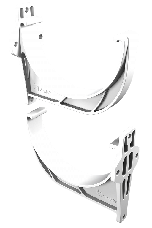 Кронштейн желоба (БЕЛЫЙ) в упк. 60 шт.