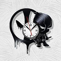 Настенные часы DeadPool Дэдпул, подарок фанатам, любителям, 1700