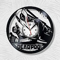 Настенные часы DeadPool Дэдпул, подарок фанатам, любителям, 1701