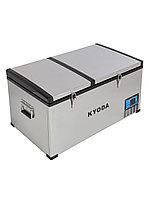 Автохолодильник Kyoda BCDS80, двухкамерный, объем 80 л, вес 30 кг