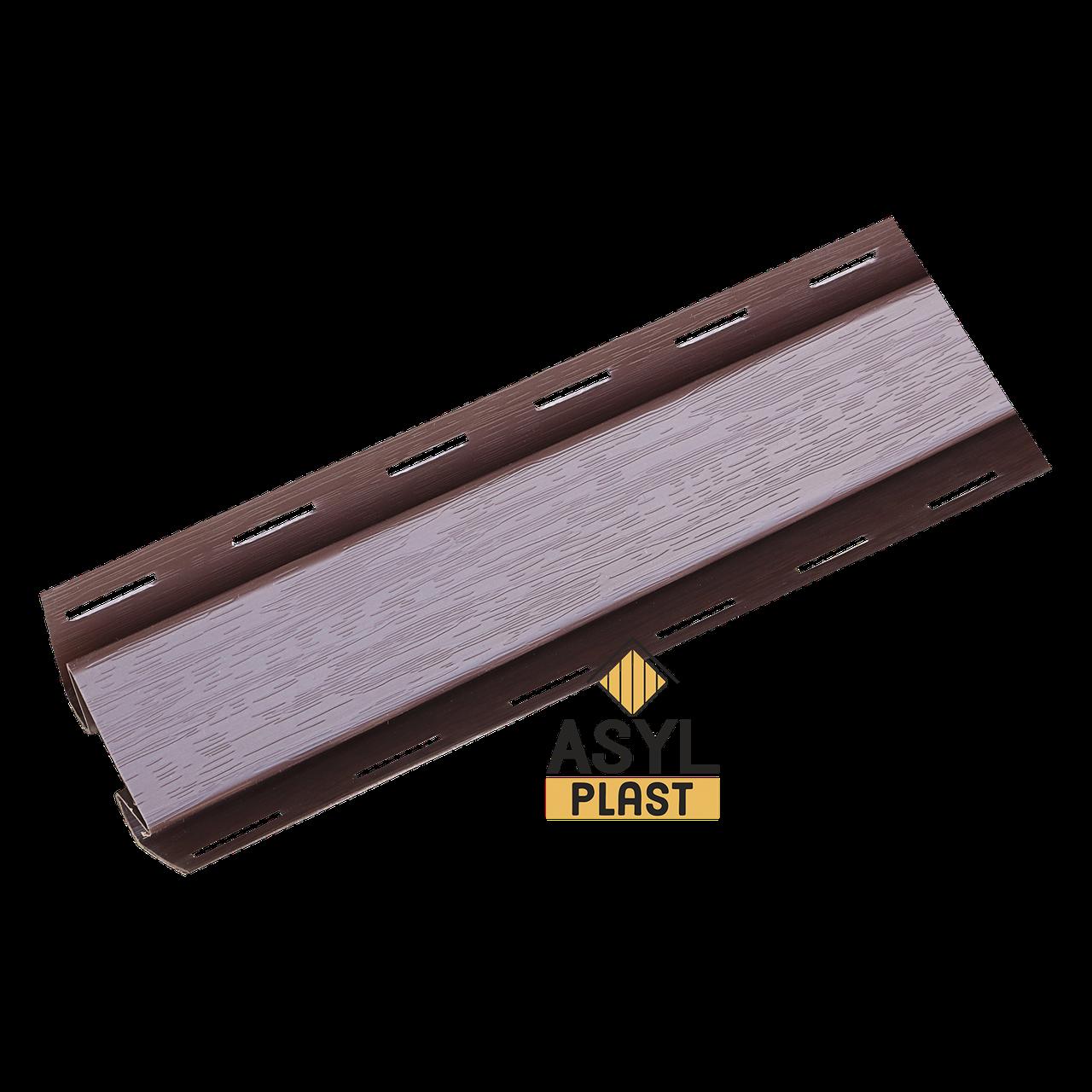Угол внутренный темно-коричневый 3 м в упк.10 шт