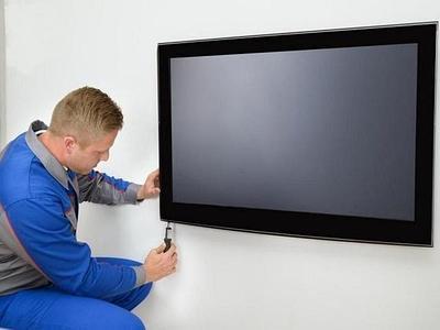Навеска и настройка телевизоров