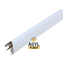 Угол наружный белый 7,5 см в упк. 10 шт.