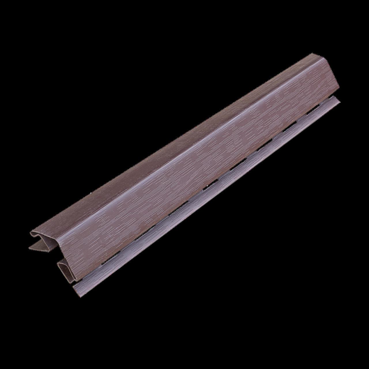 Угол наружный темно-коричневый 5 см в упк. 12 шт.