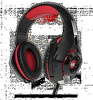 Гарнитура игровая CROWN CMGH-102T Black&red