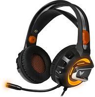 Гарнитура игровая CROWN CMGH-3103 Black&orange