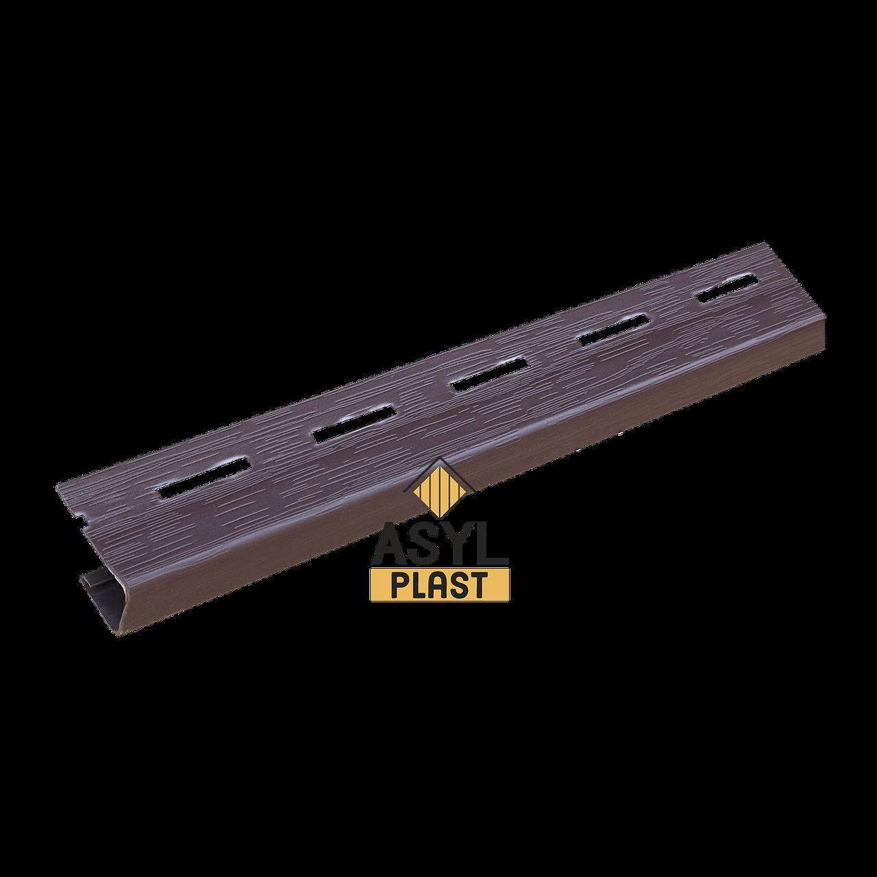 -j- профиль темно-коричневый 3 м в упк. 50 шт.