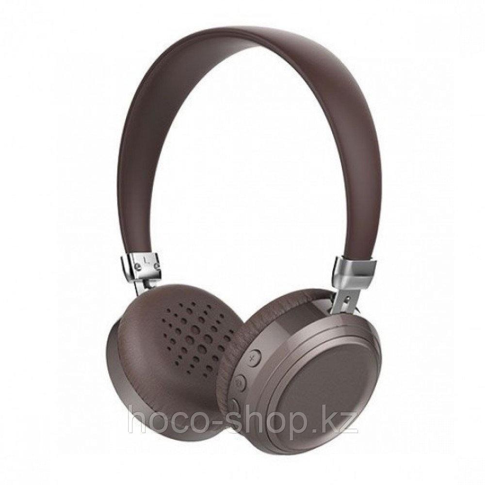 Наушники накладные Hoco W13 Bluetooth, Brown