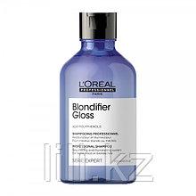 Шампунь для сияния мелированных и осветлённых волос L'Oreal Professionnel Blondifier Gloss Shampoo 300 мл.