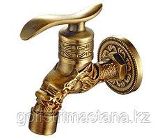 Кран бронзовый для бани и хамам. Модель 3 арт. 21974/1