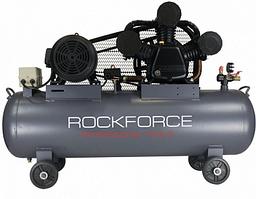 Компрессор 3-х поршневой масляный с ременным приводом 135 л. Rock FORCE RF-365-100