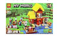 "Конструктор Bela Minecraft ""Фермерский домикʺ , аналог Lego Minecraft 21144"