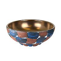 Раковина-чаша для хамам бронзовая с декором. Арт.147B